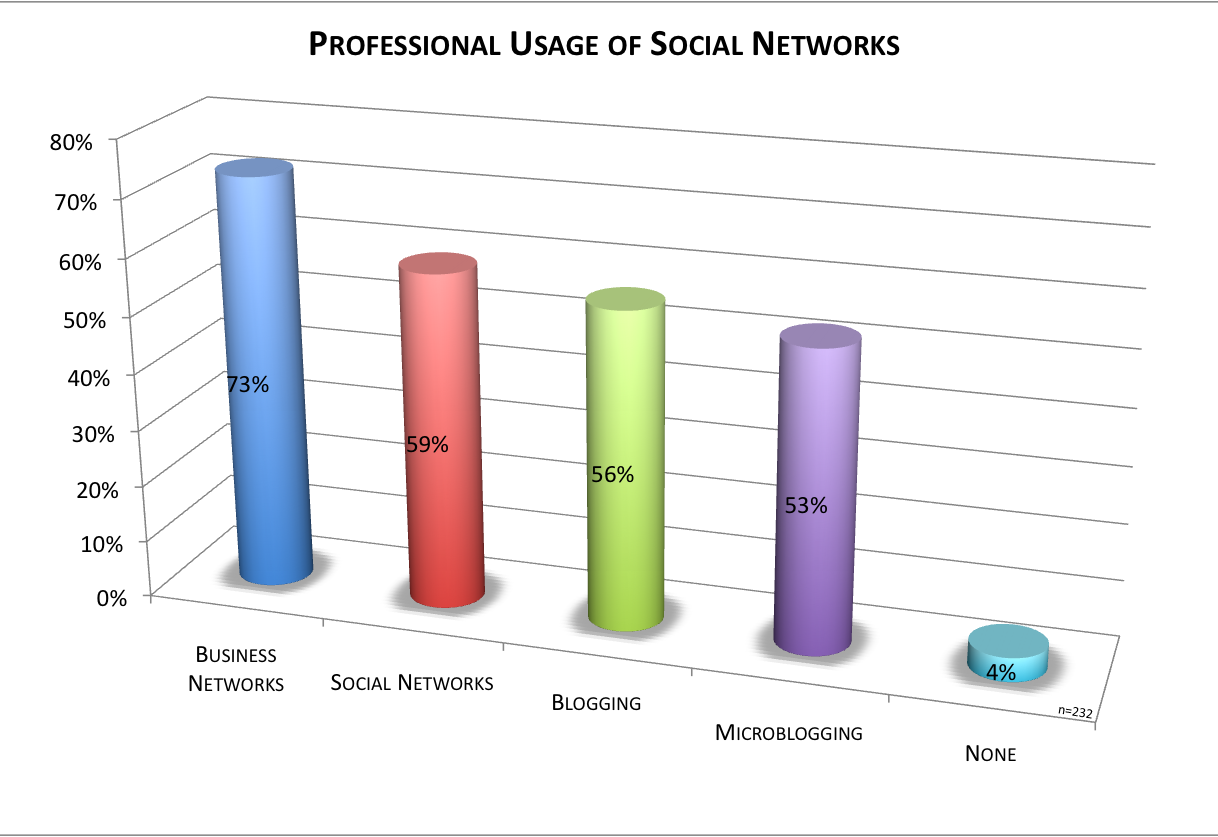 Professional Usage of Social Networks